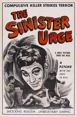 Sinister Urge The Movie Poster 24x36 - Fame Collectibles
