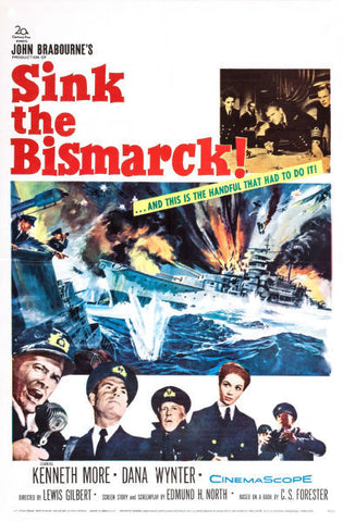 Sink The Bismarck Movie Mouse Pad Mousepad Mouse Mat