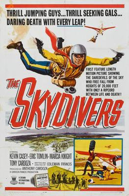 Skydivers The Movie Poster 24x36 - Fame Collectibles