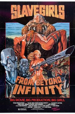 Slavegirls From Beyond Infinity Movie Poster 24x36 - Fame Collectibles