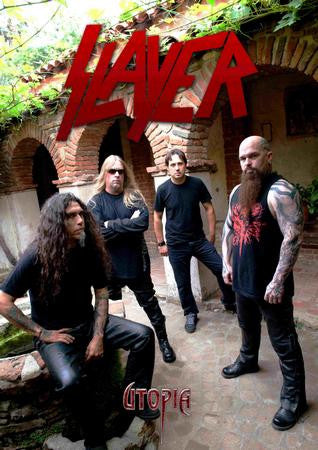 Slayer Poster group logo 24x36 - Fame Collectibles