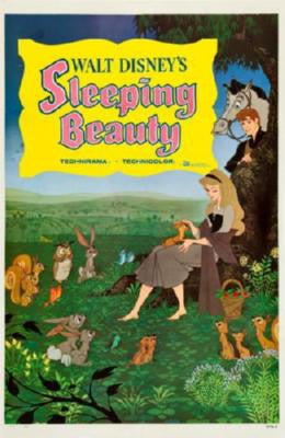 Sleeping Beauty Movie Poster 24in x 36in - Fame Collectibles