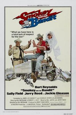 Smokey And The Bandit Movie Poster 24x36 - Fame Collectibles