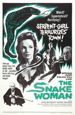 Snake Woman The Movie Poster 24x36 - Fame Collectibles