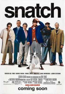 Snatch Movie Poster 24x36 - Fame Collectibles