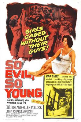 So Evil So Young Movie Poster 24x36 - Fame Collectibles