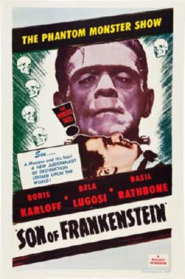 Son Of Frankenstein Movie Poster 24in x 36in - Fame Collectibles