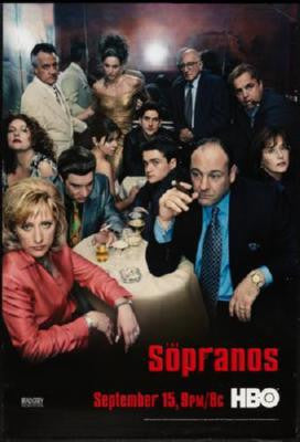 Sopranos Poster 24inx36in - Fame Collectibles