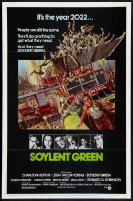 Soylent Green Movie Poster 24in x 36in - Fame Collectibles