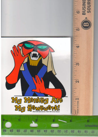 Brak Space Ghost Sticker Space Ghost Coast to Coast My Monkey Ate My Homework