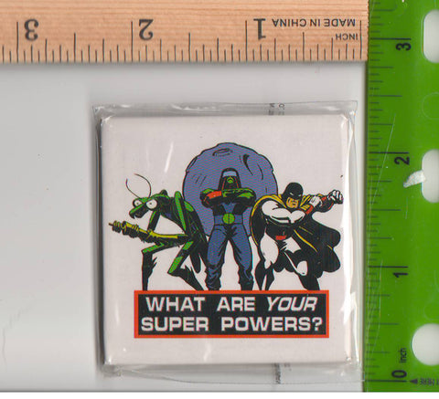 Space Ghost Coast to Coast Magnet Superpowers