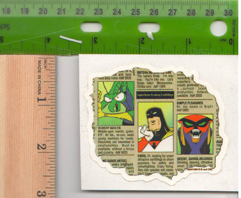 Brak Space Ghost Sticker Space Ghost Coast to Coast Zorak