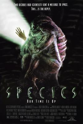 Species Pt 1 Movie Poster 24x36 - Fame Collectibles
