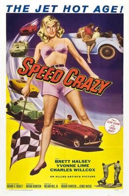 Speed Crazy Movie Poster 24x36 - Fame Collectibles