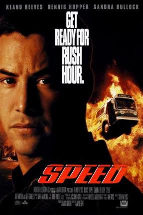 Speed Movie Poster 24x36 - Fame Collectibles