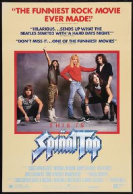 Spinal Tap Movie Poster 24in x 36in - Fame Collectibles