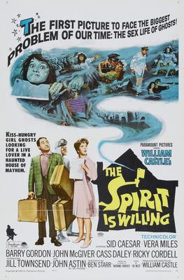 Spirit Is Willing The Movie Poster 24x36 - Fame Collectibles