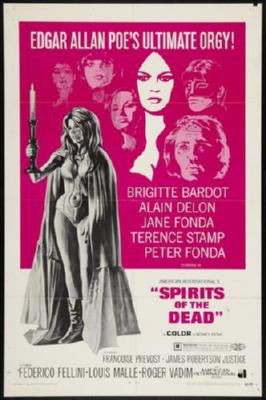 Spirits Of The Dead Poster 24inx36in - Fame Collectibles