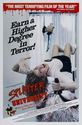 Splatter University Movie Poster 24x36 - Fame Collectibles