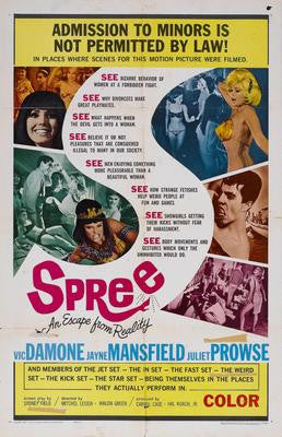Spree Movie Poster 24x36 - Fame Collectibles