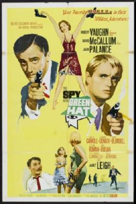 Spy In The Green Hat Poster 24inx36in - Fame Collectibles