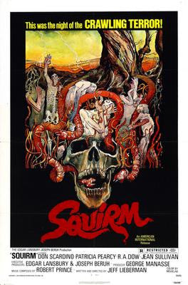 Squirm Movie Poster 24x36 - Fame Collectibles