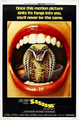 Sssssss Snake Movie Movie Poster 24x36 - Fame Collectibles