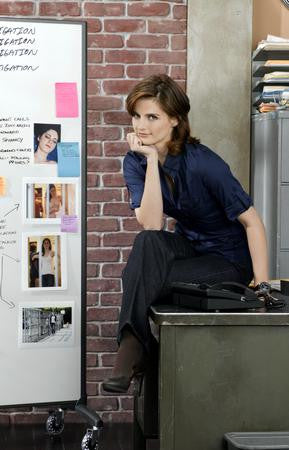 Stana Katic Poster Crime Detective 24x36 - Fame Collectibles