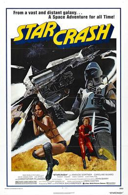 Star Crash Movie Poster 24x36 - Fame Collectibles