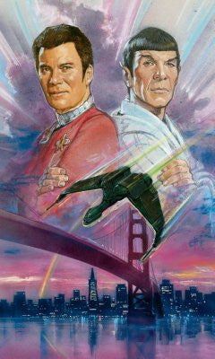 Star Trek The Voyage Home Movie Poster 24x36 - Fame Collectibles