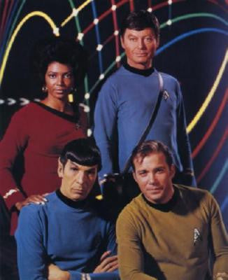 Star Trek Tos Poster 24in x 36in - Fame Collectibles