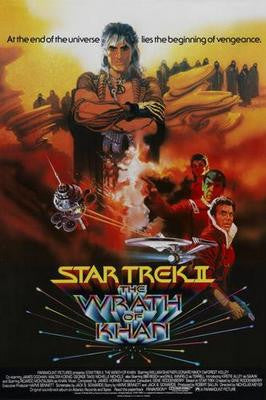 Star Trek The Wrath Of Khan Movie Poster 24x36 - Fame Collectibles