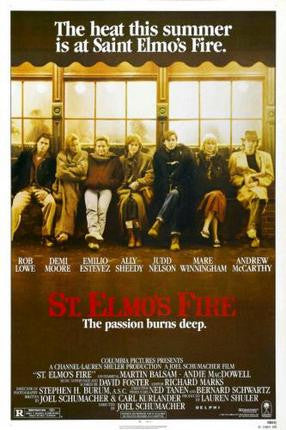 St Elmos Fire Movie Poster 24x36 - Fame Collectibles