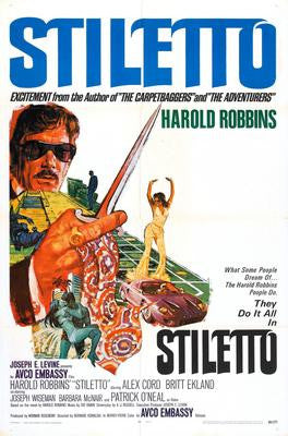 Stiletto Movie Poster 24x36 - Fame Collectibles