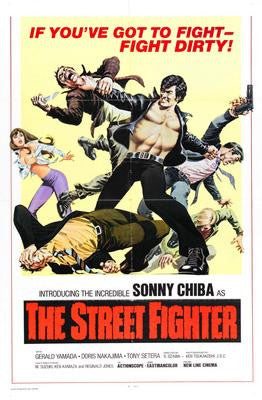 Street Fighter The Movie Poster 24x36 - Fame Collectibles