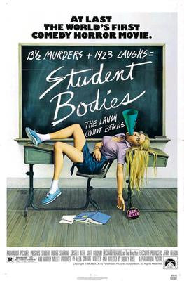Student Bodies Movie Poster 24x36 - Fame Collectibles
