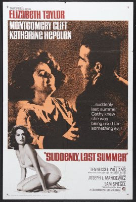 Suddenly Last Summer Movie Poster 24x36 - Fame Collectibles