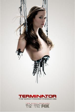 Summer Glau Terminator Poster 24x36 - Fame Collectibles