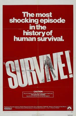 Survive Movie Poster 24x36 - Fame Collectibles
