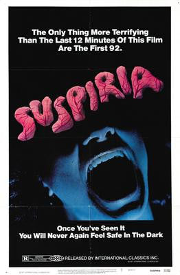 Suspiria Movie Poster 24x36 - Fame Collectibles