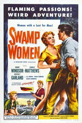 Swamp Women Movie Poster 24x36 - Fame Collectibles