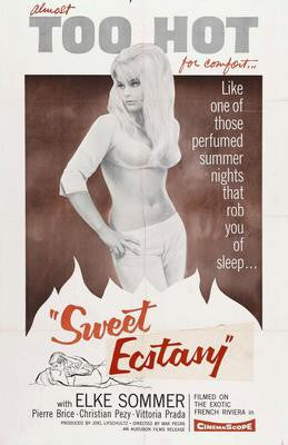 Sweet Ecstasy Movie Poster 24x36 - Fame Collectibles