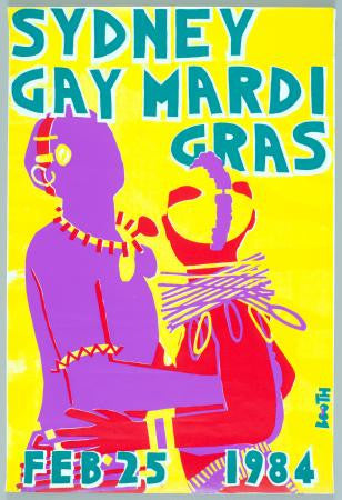 Sydney Gay Mardi Gras Celebration Poster 24x36 - Fame Collectibles