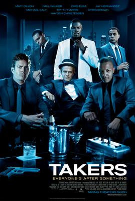 Takers Movie Poster 24x36 - Fame Collectibles