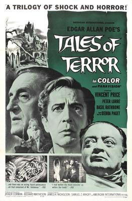 Tales Of Terror Movie Poster 24x36 - Fame Collectibles