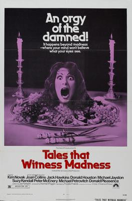 Tales That Witness Madness Movie Poster 24x36 - Fame Collectibles