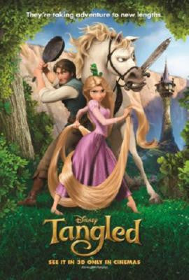 Tangled Movie Poster 24in x 36in - Fame Collectibles