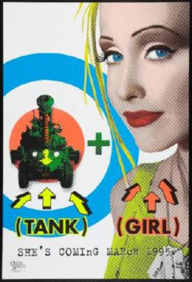 Tank Girl Movie Poster 24in x 36in - Fame Collectibles