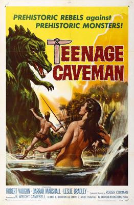Teenage Caveman Movie Poster 24x36 - Fame Collectibles