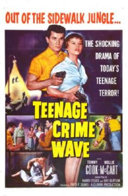Teenage Crimewave Movie Poster 24in x 36in - Fame Collectibles